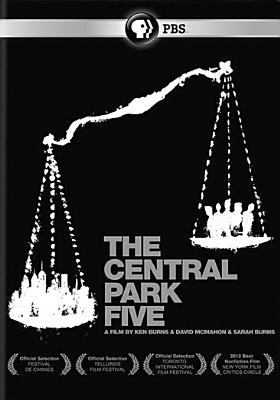 The Central Park Five DVD cover
