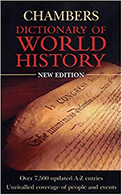 Image: Cover art of Dictionary of World History