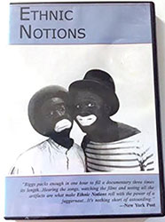 Image: DVD Cover of Ethnic Notions - Links to record of DVD