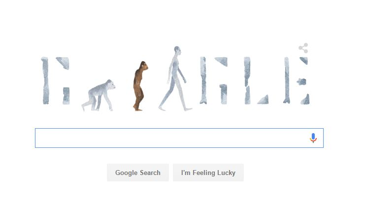 Google Doodle, 'Lucy' anniversary