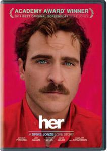 Image: DVD Cover of Her