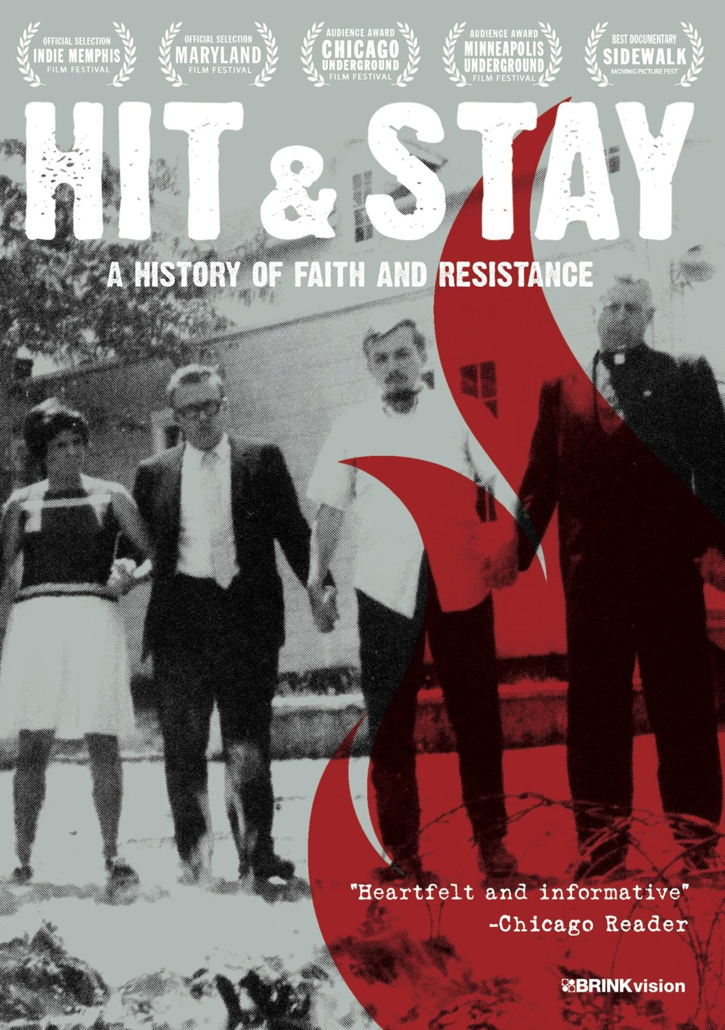 Hit & Stay DVD cover
