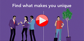 Image: Links to LinkedIn Learning Video on job hunting for college grads