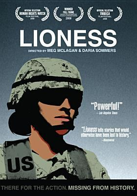 Image: Cover of DVD Lioness