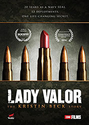 Image: DVD cover of Lady Valor