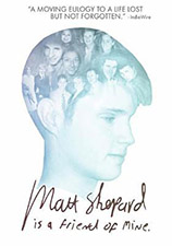 Image: DVD Cover of Matt Sheppard is a Friend of Mine