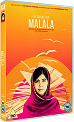 Image: DVD Cover of He Named me Malala