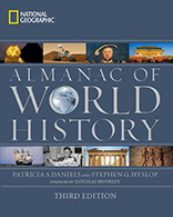 Image: Almanac of World History cover - National Geographic