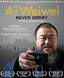 Image: Cover shot, Ai Weiwei Never Sorry DVD