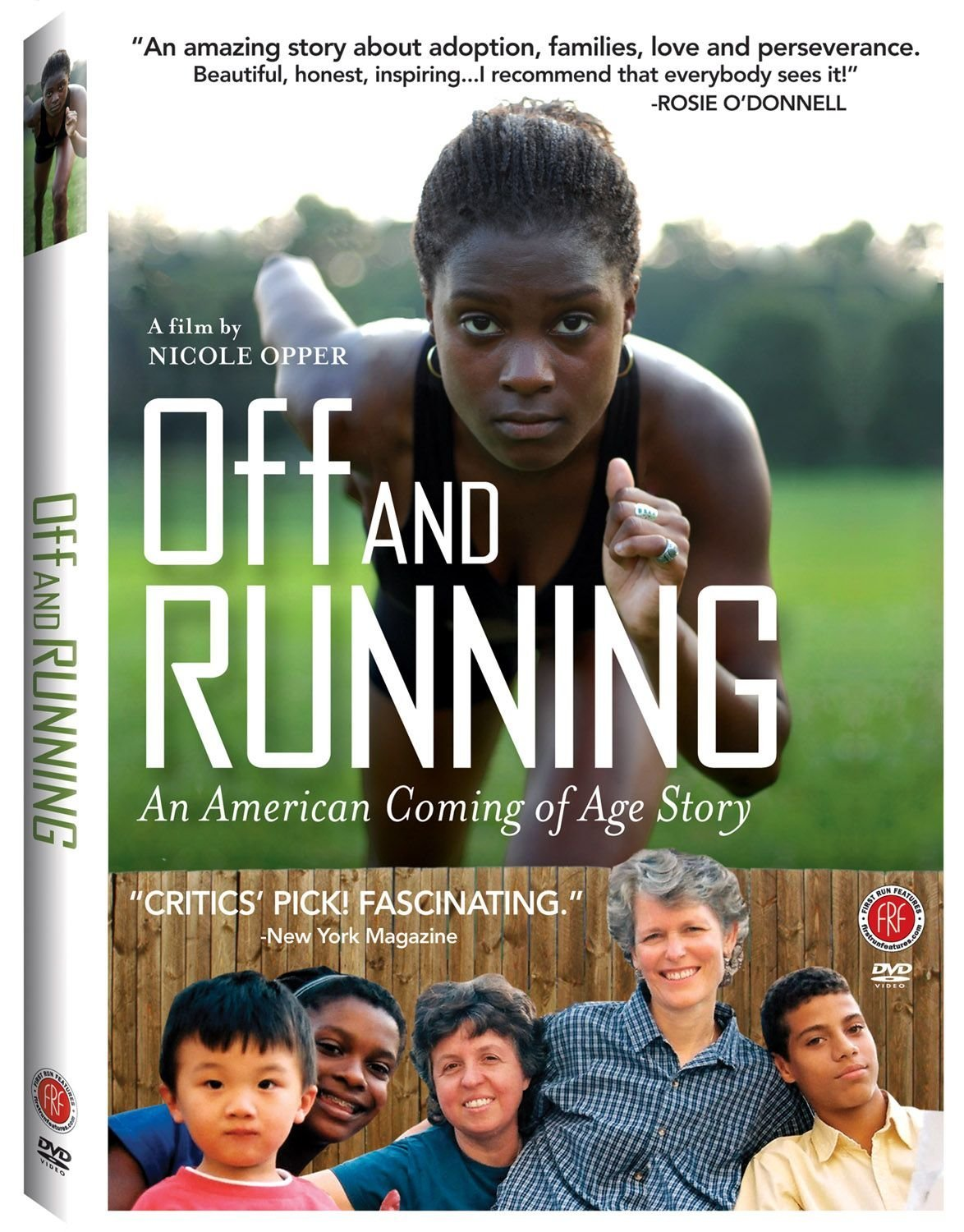 Off and Running DVD cover