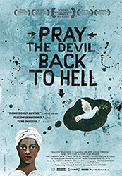 Image: Cover for DVD Pray the Devil Back to Hell
