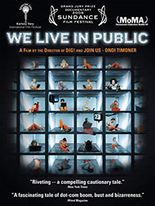 DVD Cover: We live in Public