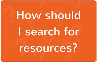 "Image: ""How should I search for resources?"""