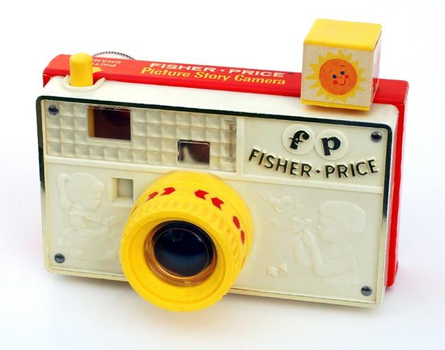 Image: Photo of toy camera
