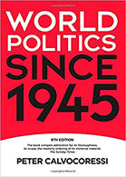 Image: World Politics Since 1945 cover