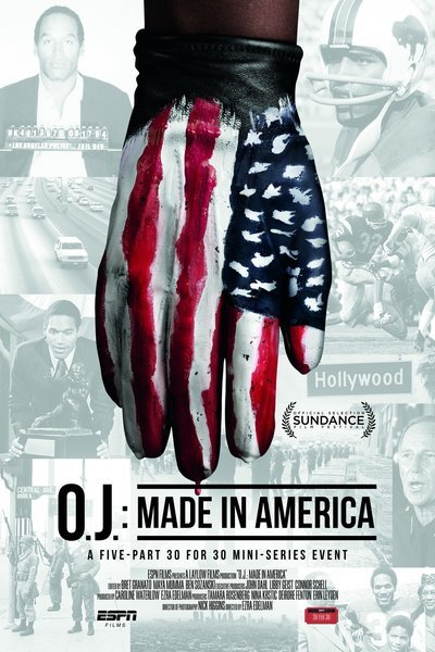 OJ: made in America DVD cover