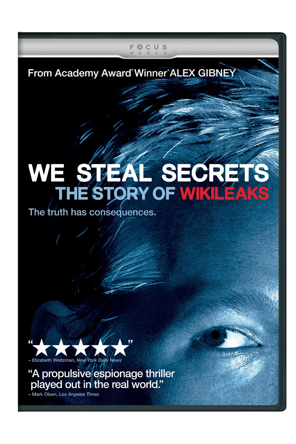 Image: DVD cover for 'We Steal Secrets'