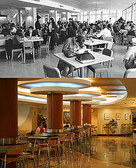 Union dining then and now
