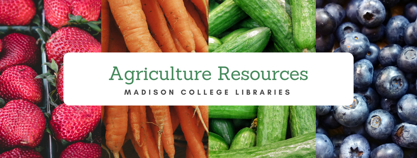 Agriculture Resources Banner