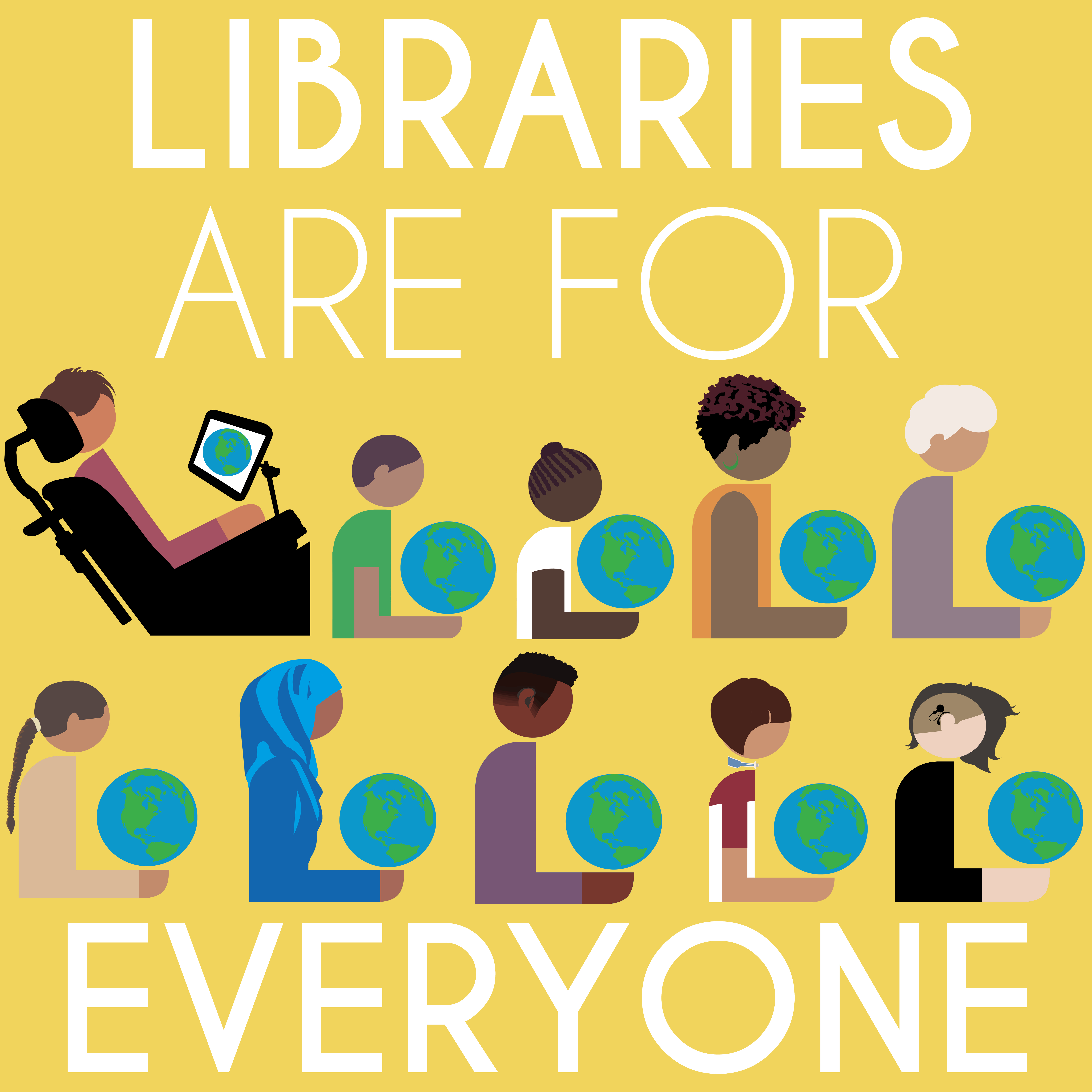 Image: Libraries are for everyone
