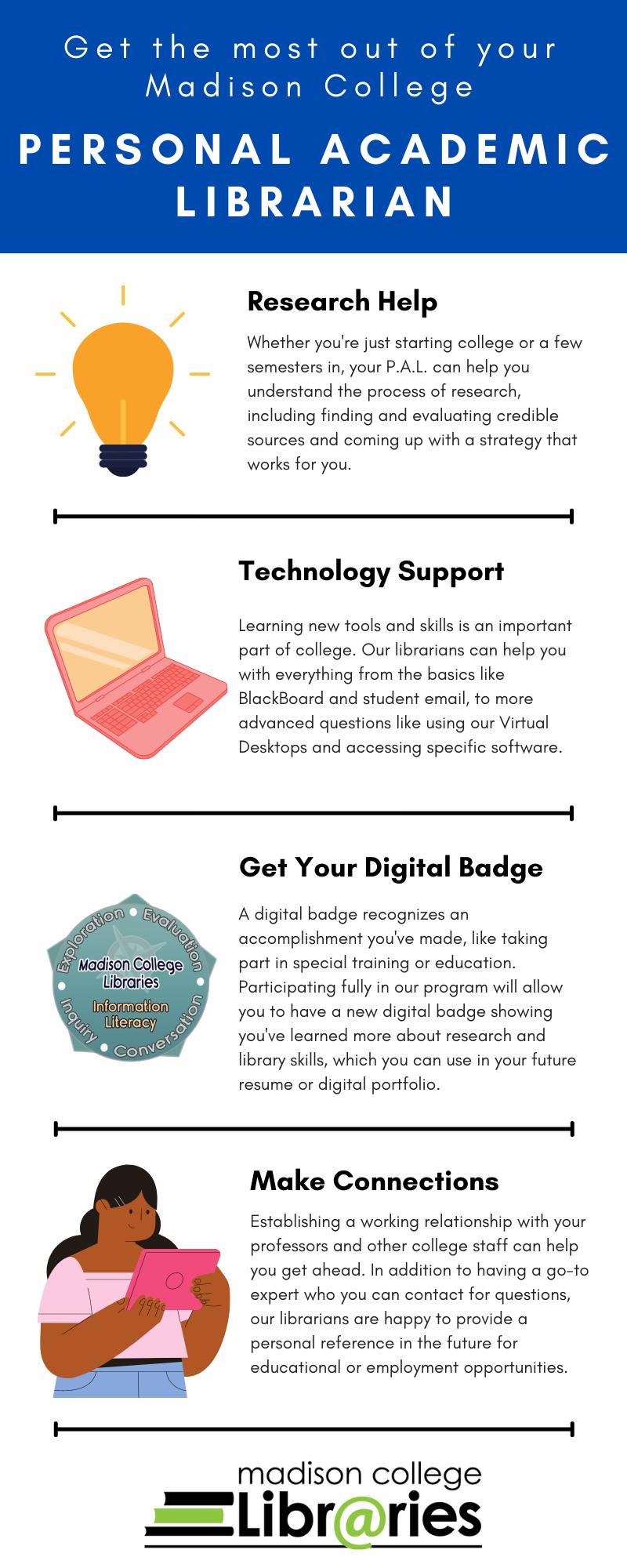 P.A.L. Program Infographic