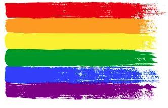Image: Colorful Rainbow Pride Flag