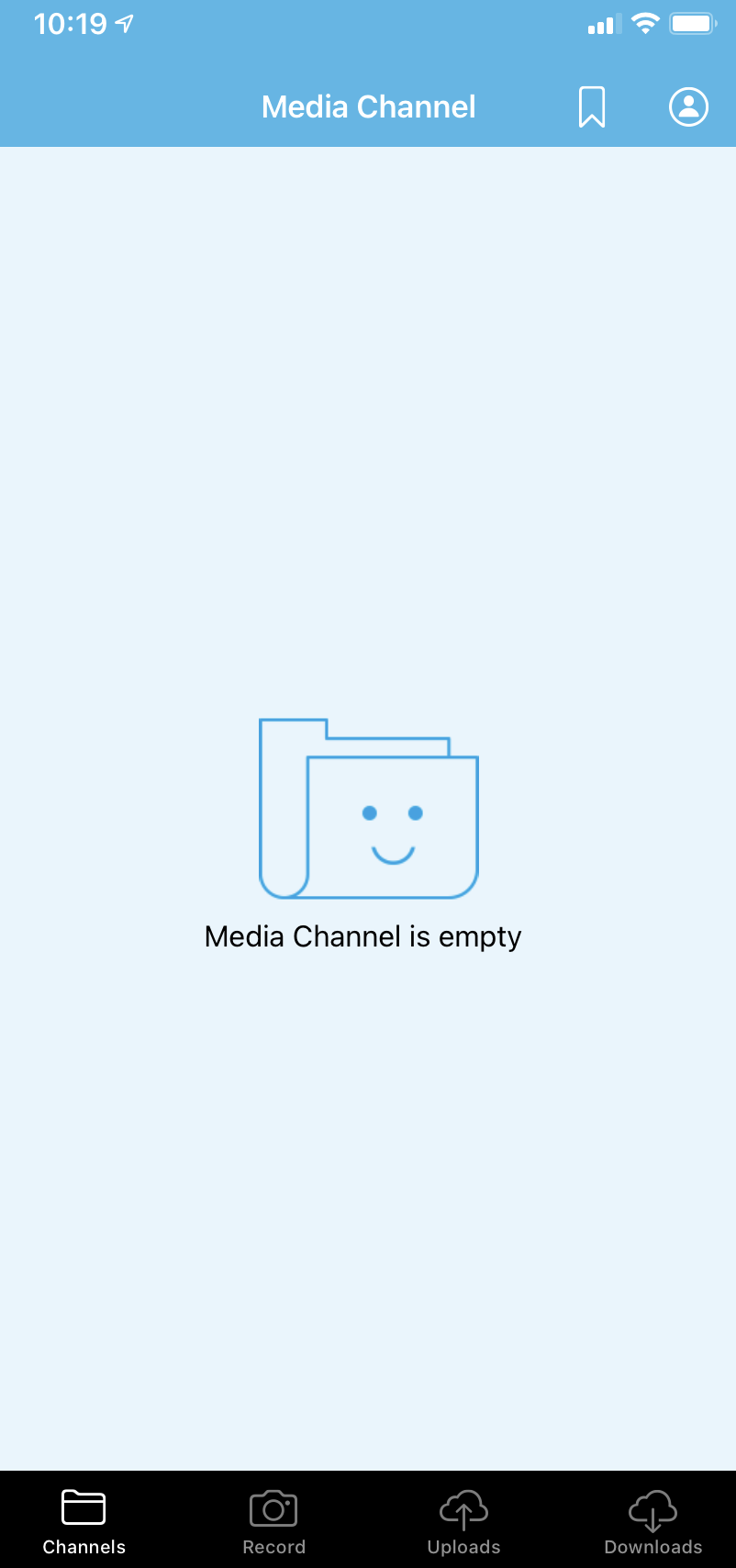 Media channel page