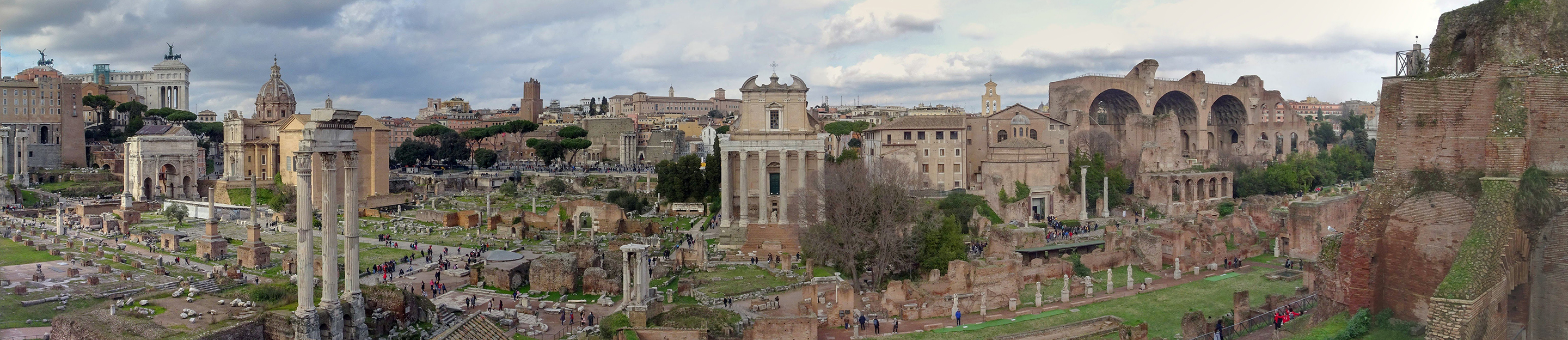 roman forum photo by d marconnet 2019