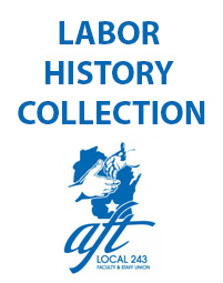 labor history collection; aft 243 logo