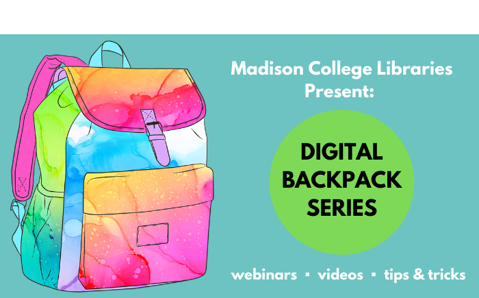 digital backpack series