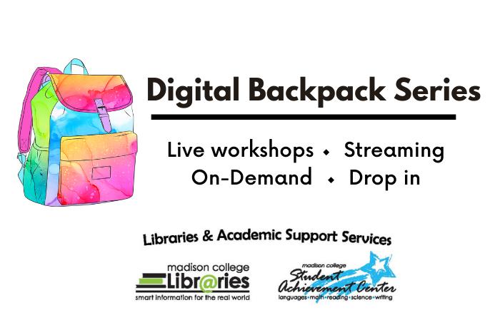 Digital Backpack Workshops