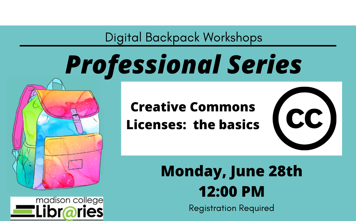 Digital Backpack Professional Series - CreativeCommons