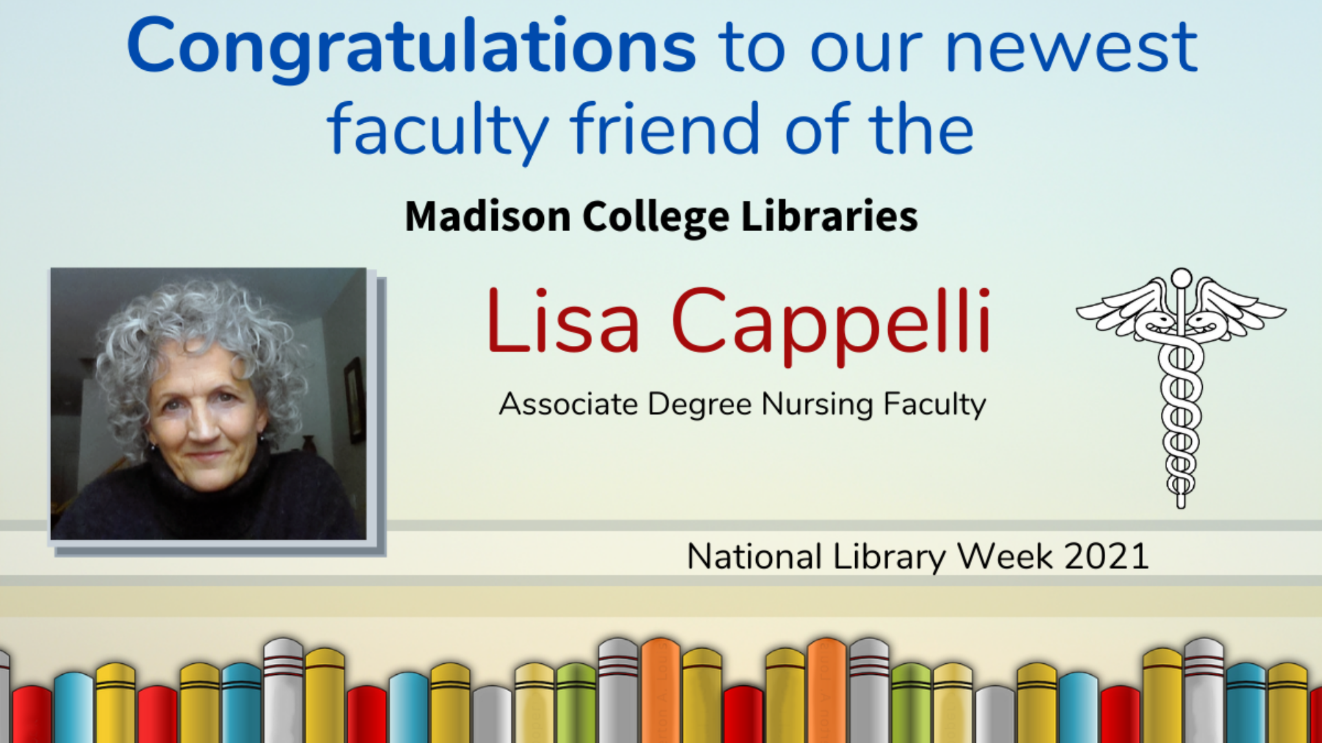 Faculty Friend Lisa Cappelli
