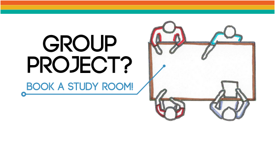 Group project? Book a study room