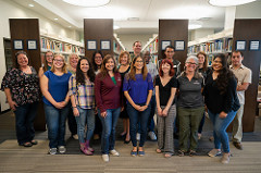 Mission Statement - Picture of Library Staff
