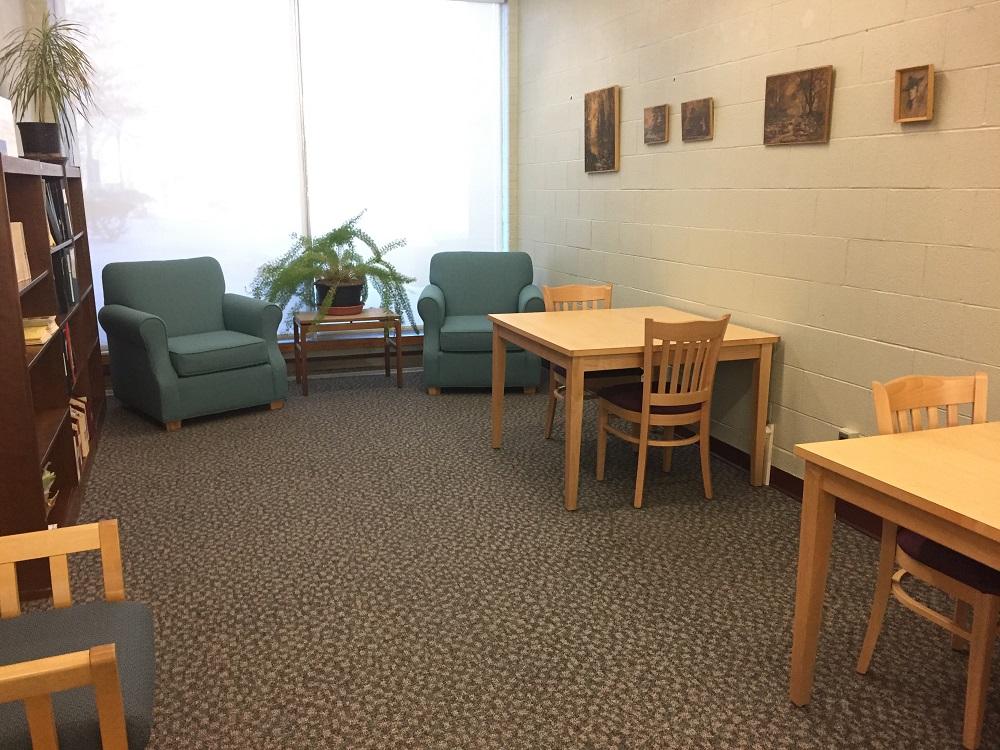Silent study room