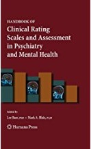 Book cover of the Handbook of Clinical Rating Scales