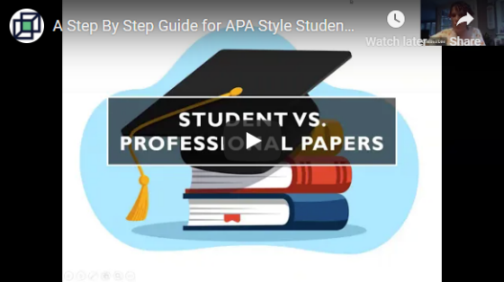 Student versus professional papers thumbnail.