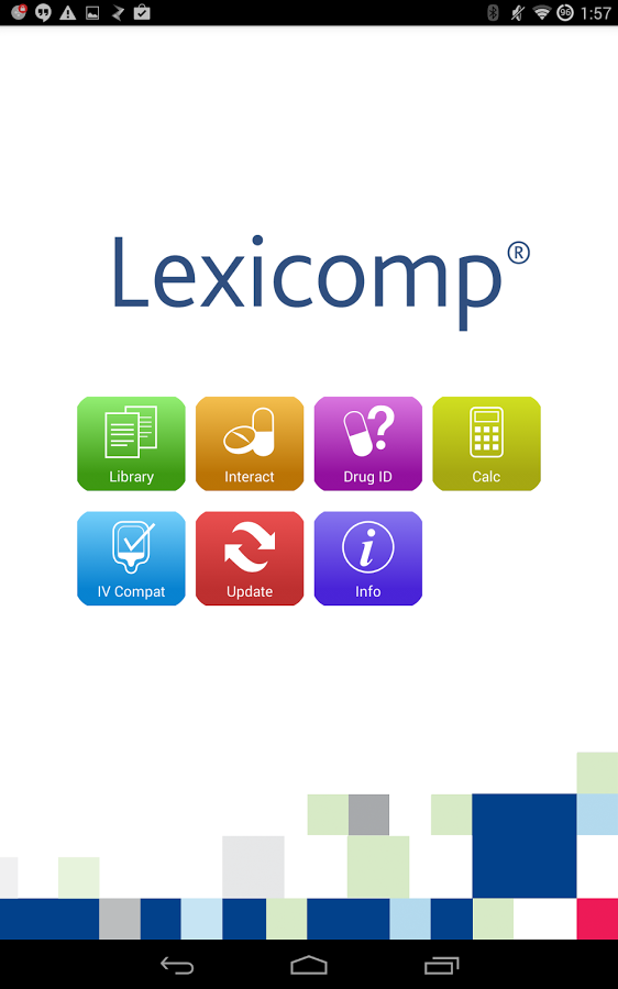 Lexicomp Screenshot