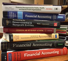 image of financial books
