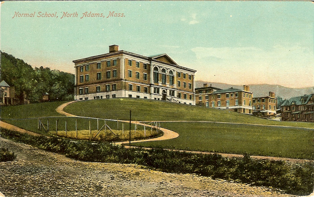 north adams normal school postcard