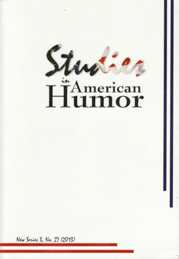 studies in american humor cover image