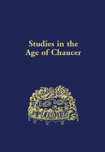 studies in the age of chaucer cover image