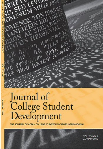 journal of college student development cover image