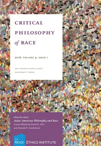 critical philosophy of race cover image