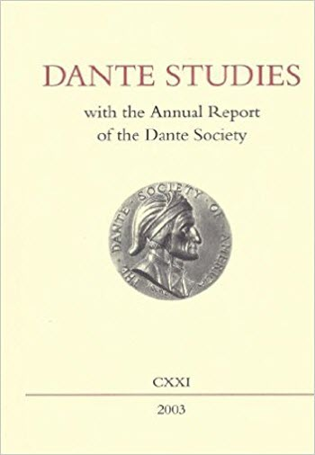 dante studies cover image