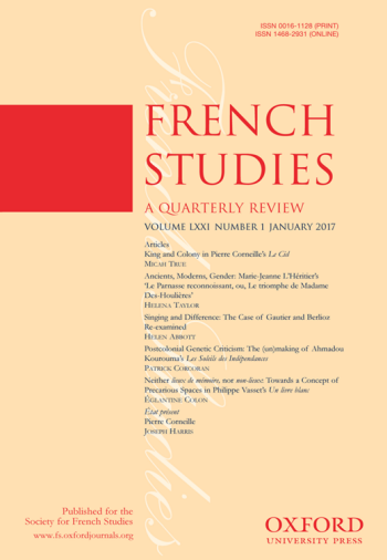 french studies cover image