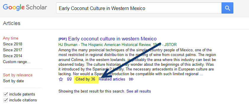 cited by link in google scholar
