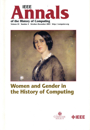 annals of the history of computing cover image