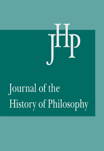 history of philosophy cover image